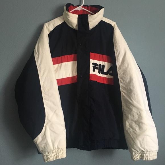 Vintage Fila Puffer Jacket